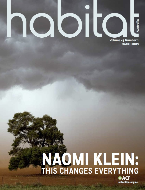 March 2015 Issue – Habitat Magazine – A View from the Desk